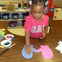Franconia KinderCare Photo - Preschoolers are encouraged to express themselves through creative art.