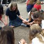 Genoa Christian Academy Photo #6 - Upper Academy students pray for each other, their community and world issues during weekly Chapel.