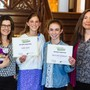Quest Montessori School Photo #5 - Quest celebrated the achievement of two 7th grade students scoring winning entries in the Write Rhode Island creative writing competition. Held annually, the 2019 competition drew over 160 entries from students in grades 7-12 across the state.