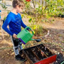 Valley Waldorf City School Photo #4 - Gardening in third grade