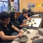 Waldorf High School Of Massachusetts Bay Photo #6 - Students working with clay in the ceramics course.