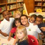 Humble Christian School Photo #3 - HCS has a great Kindergarten Senior Mentor Program. Seniors help the Kindergarten students throughout the year; play with them, read with them, exchange gifts and participate in various activities during Christmas, Thanksgiving, Valentine's day.