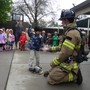 Whispering Oak Montessori Academy Photo - Fire Department Visit