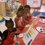 Constitution KinderCare Photo - Our students enjoy Painting and Popcorn during our summer camp.