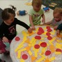 Overland Park South KinderCare Photo #4 - Pizza art!