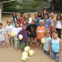 Santa Barbara Montessori School Photo - These are some of our Summer Session Volleyball camp players. Their NCAA coach was impressed!