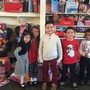 St. Pius V Catholic School Photo - Kindergarten students proudly participated in St. Pius V's December toy drive, one of our many service events.