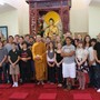Washburn Academy Photo - Social studies classes include visits to places related to the subjects they are studying, such as this Buddhist monastery.