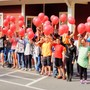 Brookwood Christian Language School Photo - Balloon Release in memory of Founding Partner and Board Member, Nov 2016