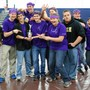 New Creation Christian Academy Photo #2 - High School Robotics Team TechnoCrusaders with their Inspire Award won at a local competition