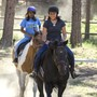 Chrysalis School Photo #8 - We have 6 horses that we use for equine therapy and trail riding.