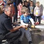 Camelot Kids Preschool Photo #7 - Fire Hose, LAFD Silverlake Station Field Trip