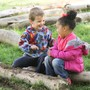 Greenspring Montessori School Photo #8 - Outdoor environments provide all children direct access to nature throughout the school day. Children love to play and explore the outdoors.