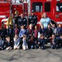 Valley Christian Academy Photo #4 - Fire fighters visiting the school to teach about Fire Safety.