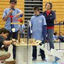 Valley Christian Junior High School Photo #1 - The annual Rube Goldgburg competition is a highlite of the school year, where student develop their problem solving skills in developing fully out-of-the-box contraptions for big prizes!