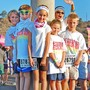 Zion Christian School and Learning Center Photo - Zion kids at the Color Run in San Diego.