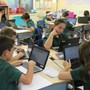 St. Mary Magdalen School Photo #5 - Students in grades 6th-8th have individual Chrome Books to use throughout the school year.
