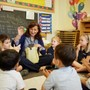 Whitby School Photo - Spanish immersion begins at 18 months at Whitby. Teachers take a hands on approach to help students understand a second language.