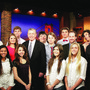 Westminster Academy Photo #10 - Broadcasting students interview Attorney General John Ashcroft.