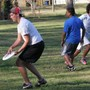 Ben Franklin Academy Photo #3 - BFA, Ultimate Frisbee team members throwing a winning Frisbee!