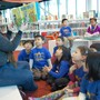 Pui Tak Christian School Photo - Our Kindergarten goes to the Chinatown Public Library every Friday!
